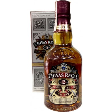 Whiskey Chivas Regal 12 years 50cl 40% Alcohol