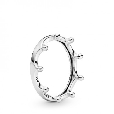 Pandora Silver Crown Ring woman