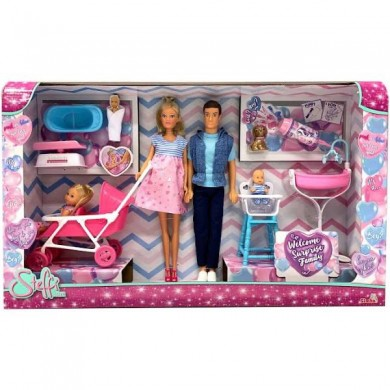 Simba Barbie Accessories Welcome Family 3 3